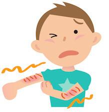 湿疹・皮膚炎の鍼灸