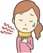 寝違いによる首の痛み